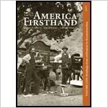 Book America Firsthand, Vol 1- Readings from Settlement to Reconstruction (8th, 10) by [Paperback (2009)]