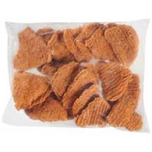 Tyson Red Label Premium Hot N Spicy Uncooked Breaded Chicken Breast Filet, 4 Ounce - 2 per case.