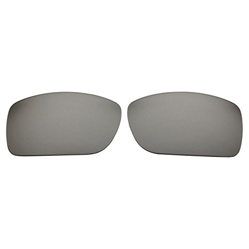 COODY Replacement Polarized Lenses for Spy Optic Oasis Sunglasses (Titanium Mirror)