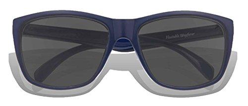 Gradient Frame sol Lens adultos Navy Matte de para KZ Grey Gafas P6qgawq8