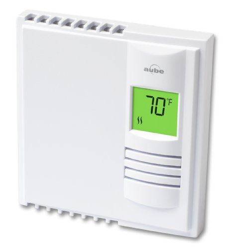 Aube by Honeywell TH108PLUS/U Electric Heating Non-Programmable Thermostat with Backlight