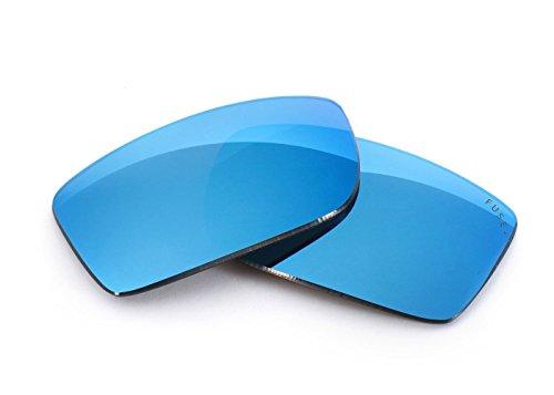 FUSE+ Lenses for Oakley Double Edge Glacier Mirror - Double Oakley Lens Sunglasses