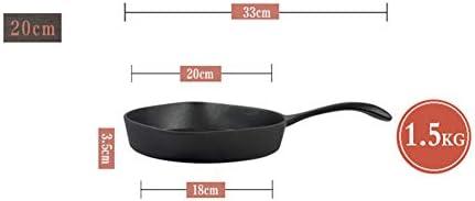 QAQWER Poêle À Frire, Poêle À Frire Plat À Petit Déjeuner Omelette Mini Poêle À Viande Frite