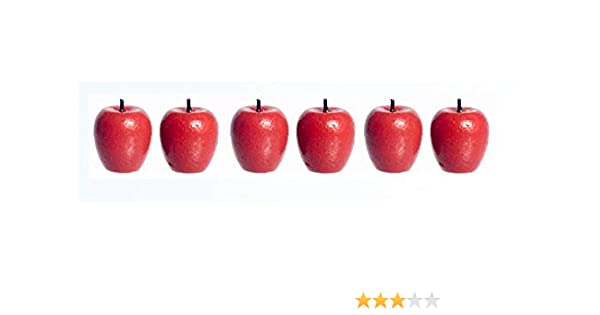 10 Loose Gala Apple Dollhouse Miniatures Food Handicraft Food Groceries Decor