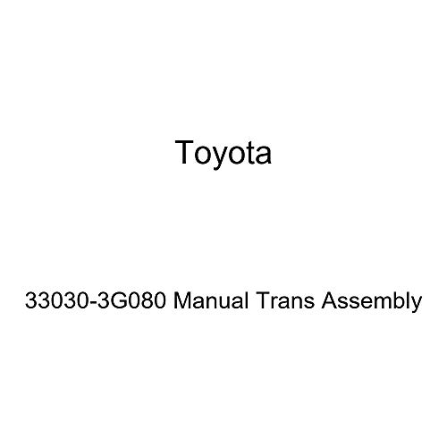 Toyota 33030-3G080 Manual Trans Assembly