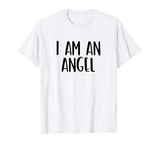I Am A Angel Costume Halloween I'm Lazy Easy Last Minute
