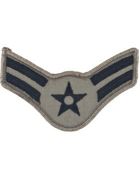 USAF Chevron ABU (Pair) (Large, A1C Airman First Class)
