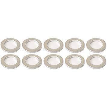 - Honda Genuine OEM Rear Differential Drain/Fill Plug Washers (20mm), Bag of 10-94109-20000