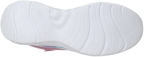 Skechers Kids Kids\' Quick Kicks-Shimmer Dance Sneaker,hot pink/multi,2 Medium US Little Kid