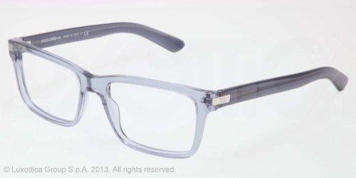 3ea8e5cd916e04 DOLCE   GABBANA Monture lunettes de vue DG 3157 2694 Transparent Azure 52MM