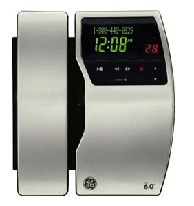 (GE - DECT 6.0 - Stainless Steel Finish )