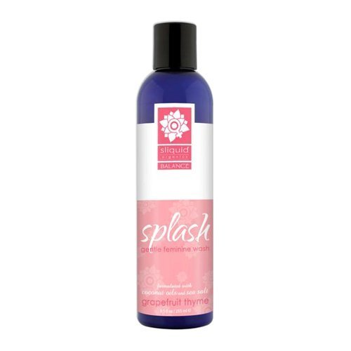Sliquid Splash Natural Feminine Wash Grapefruit Thyme 8.5 oz