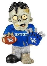 Kentucky Wildcats Zombie Figurine - Thematic w/Football