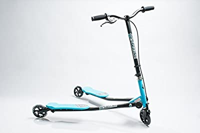 Sporter® Three Wheel Scooter Wiggle Action Gives Kids and Toddlers Added Mobility with Slower Speeds and Tough Breaking Power