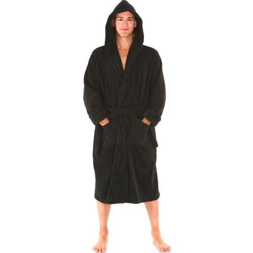 d895a27410 low-cost Alexander Del Rossa Mens Turkish Terry Cloth Robe