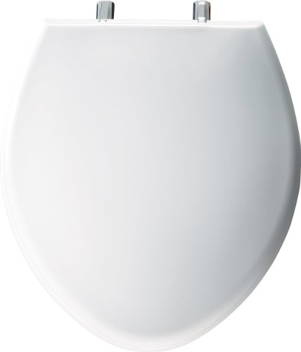 Bemis 1000CP000 1000CPT 000 Paramount Plastic Elongated Toilet Seat, White