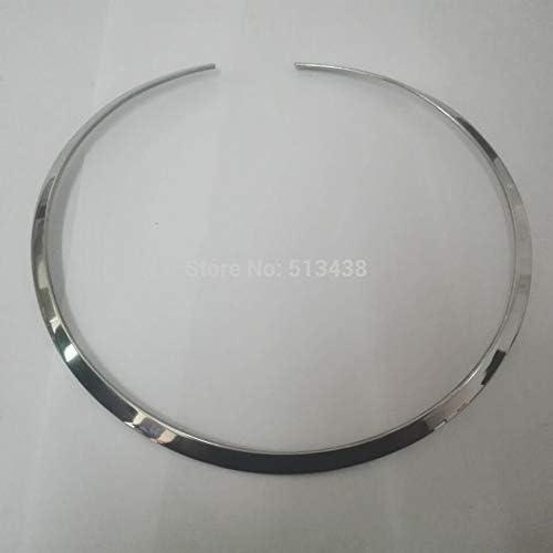 SELITE 3mm//4mm//6mm wide choose Fashion Stainless Steel Choker Collar Open Cuff Necklace Chain Women Men Jewelry