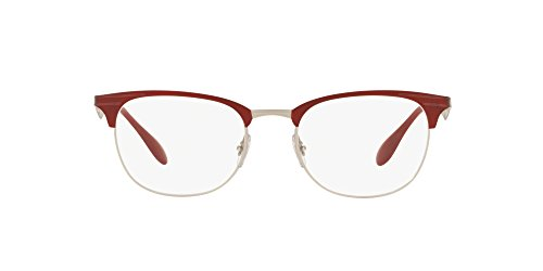 Red Monturas Unisex ban Move 52 Top Silver Gafas Matte Mt Ray De 0rx6346 wxFqvdXZX