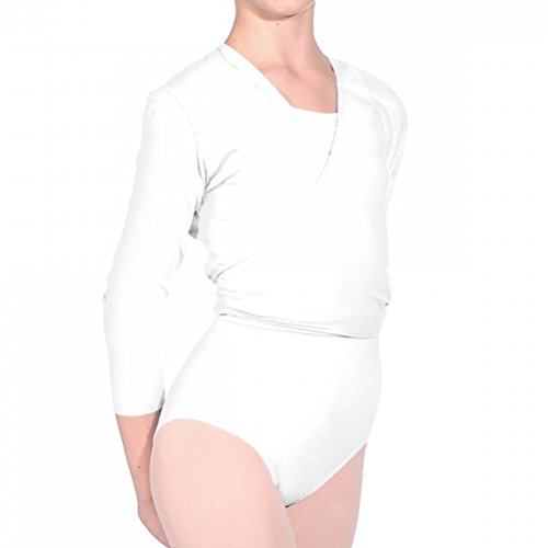 Ballet cardigan Dance Lycra Nikki Valley V Roch R cotone White 47OAqPa81