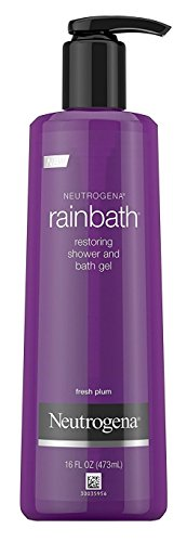 Neutrogena Rainbath 16 Ounce Fresh Plum Shower & Bath Gel (473ml) (2 Pack)