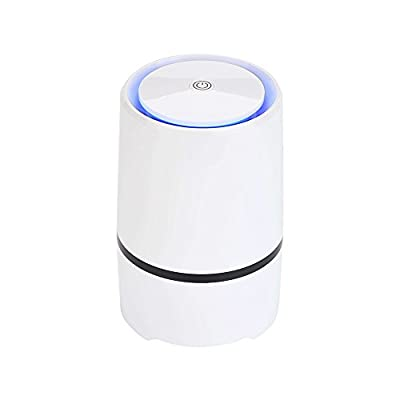 Portable Air Purifier,Desktop anion sterilization Air Purifier, Air lonizer, Air Cleaner, USB Mini Air Purifier,True Hepa Homes Purifier Remove Cigarette Smoke, Odor Smell, Bacteria