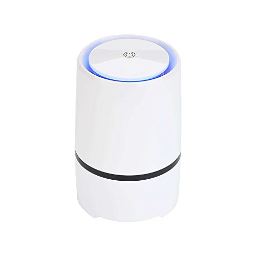 Portable Air Purifier,Desktop anion sterilization Air Purifier, Air lonizer, Air Cleaner, USB Mini Air Purifier,True Hepa Homes Purifier Remove Cigarette Smoke, Odor Smell, Bacteria