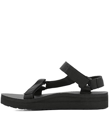 1090969blk Sandals Fabric Black Women's Teva vBfqXX