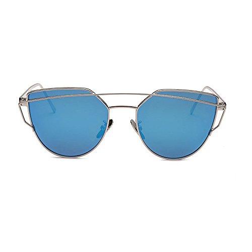 qualité Hommes Polarisées de Lunettes UV400 pour Classiques Yxsd Pilote Soleil de Le Protection Femmes Meilleur Lunettes de Blue Pilote et Soleil Métallique de Cadre qxBwXXPA