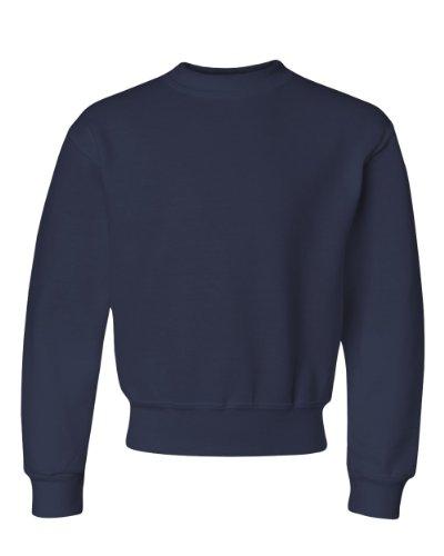Sweatshirt Jerzees 562b (Jerzees Crew Neck Sweatshirt (562B) J Navy, S)