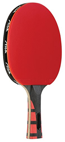 (STIGA Evolution Performance-Level Table Tennis Racket Made with Approved Rubber for Tournament Play)
