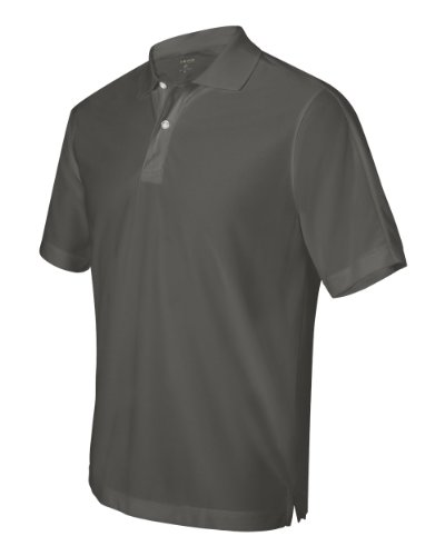 Izod Men'S Performance Pique Polo (Thunder Cloud) (M)