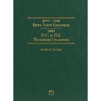 LITTLETON COIN COMPANY LCF3T 50 State & Territory Quarter Folder 99-09 LTCY0004