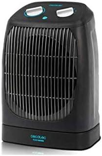 Cecotec Calefactor Vertical Ready Warm 9550 Rotate Force. 3 Modos, Termostato Regulable, Protección sobrecalentamiento, Sensor Antivuelco, Oscilante, 2000 W