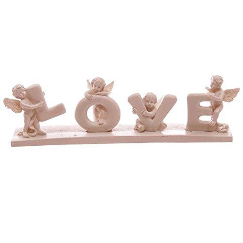 Cherub Letters 'Love' on Base ()