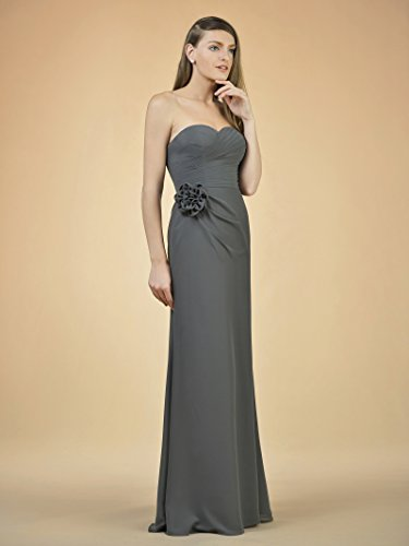 Party Alicepub Dark Gown Bridal Evening Dress Dresses Prom Bridesmaid Long Navy Maxi Chiffon xaqrSPgwXa