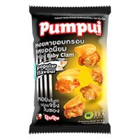 Pumpui, Crispy Baby Clam, Popular Flavour, net weight 30 g (Pack of 6 pieces) / Beststore by - Oyster Chicken Sauce