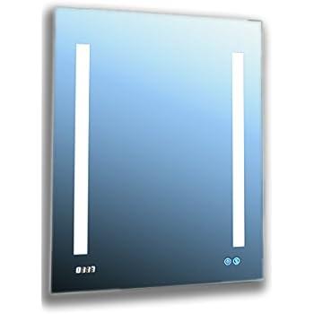 Amazon.com: AQUADOM Mirror Glass Cabinet For Bathroom ...