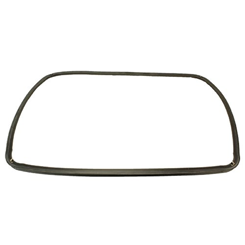 Spares2go Main Rubber Door Seal with Corner Fixing Clips For Ariston Oven / Cookers (445MM X 350MM)