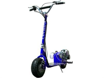 Dirt Dog - BLUE - 49cc Gas Powered Scooter [511]