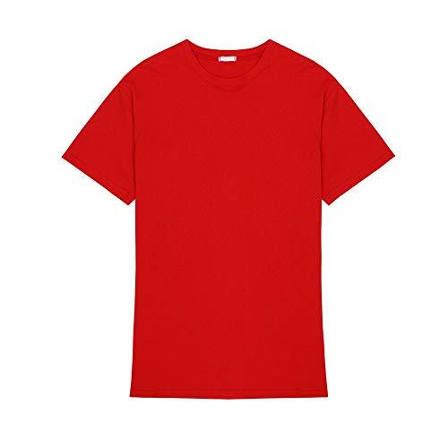 Vestito Casa Donna Moda Sonno Semplice Breve Di Casual Sexy Donna Mmllse Gonna Cotone Camicia Pigiama Uomo Rosso Abbigliamento Grande E Photo Color IFqwTxz