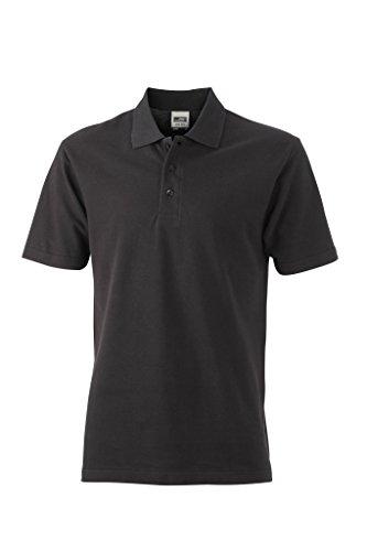 Piqué Polo   JN748, Größe:XL;Farbe:black