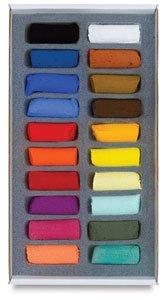 Sennelier Pastel Half Stick Set - Assorted Colors - Set of 20