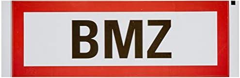 """Aufkleber, 297x105mm,""""Bmz"""""""
