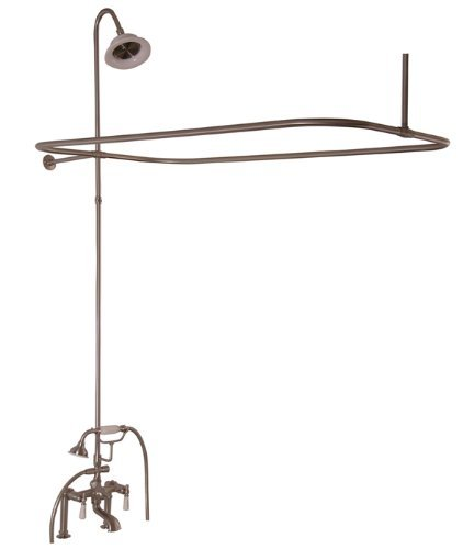 (Barclay 4063-PL-CP Universal Code Rectangular Shower Unit with Elephant Spout and Lever Handles by Barclay)