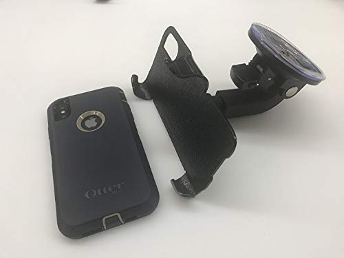 SlipGrip Car Holder for Apple iPhone Xs Max Using Otterbox Defender Case HV