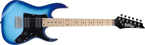 Ibanez GRGM 6 String Solid-Body Electric Guitar, Right, Blue Burst (GRGM21MBLT)