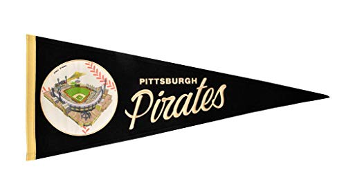 (Pittsburgh Pirates Vintage Ballpark Traditions Pennant (Large 13x32))