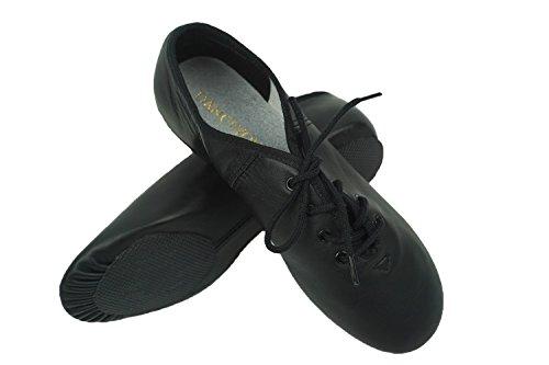 Tanzschuhe Erwachsene YOU und Leder für Feinem Jazzschuhe Geteilte Schnürsenkel mit Kinder mit Sohle DANCE aus n6Ixdqwa6