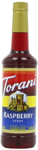Torani Syrup, Raspberry, 25.4-Ounce Bottles (Pack of 3)
