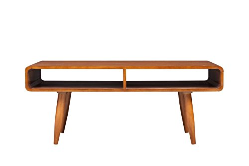 Boraam 32211 Zebra Series Halmstad Coffee Table, Rich Walnut (Series Set Desk)